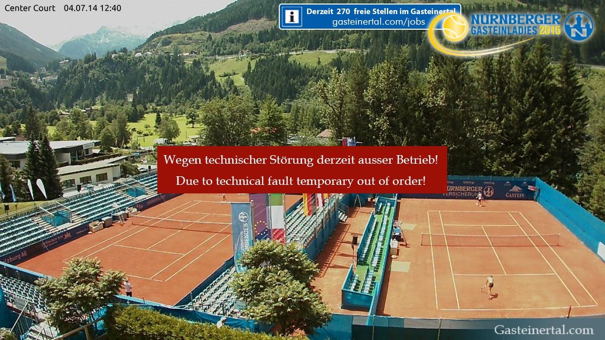 Webcam Tennis Center Court Gastein