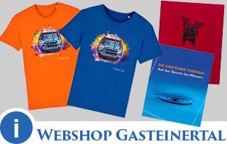 Webshop Gasteinertal