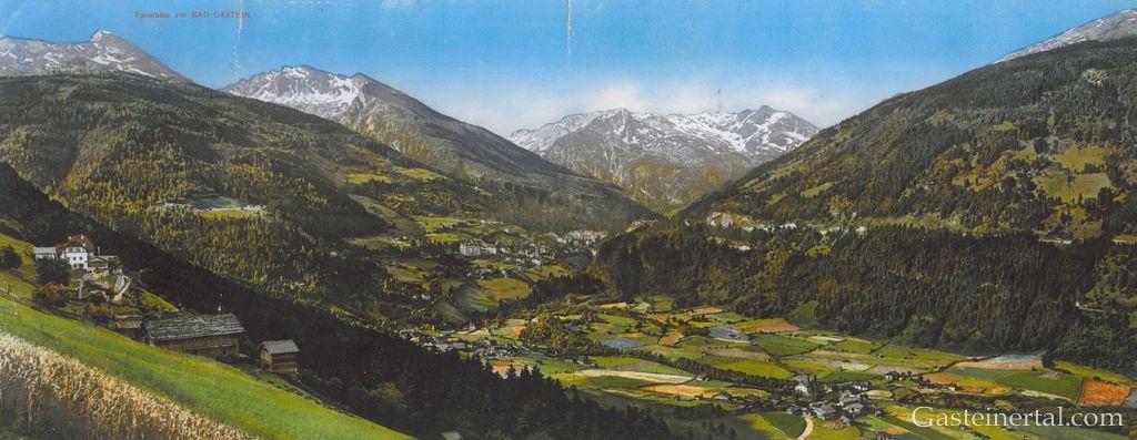 Blick nach Bad Gastein um 1900