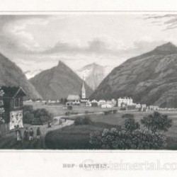 Bad Hofgastein um 1850   (c) Österr. Nationalbibliothek