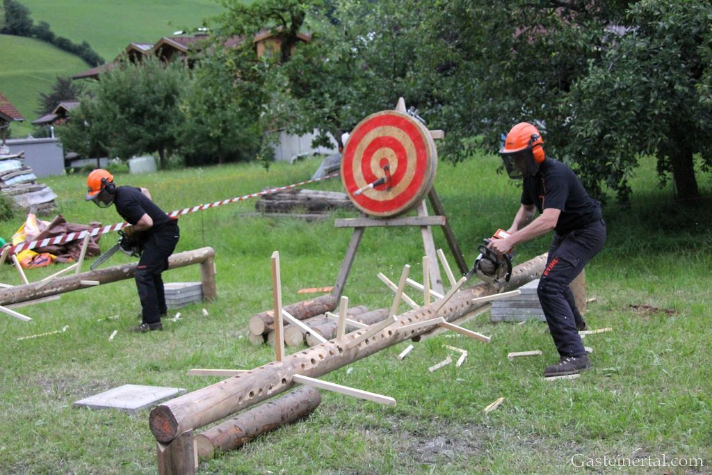 Timbersports Holzf�llershow