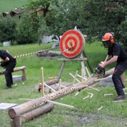 Timbersports Holzfällershow