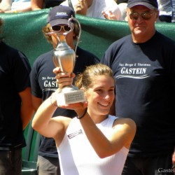 Winner of the WTA Tournament in Bad Gastein: Andrea Petkovic