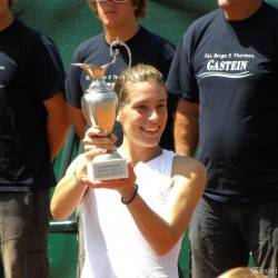 1st place in the WTA Tounament in Gastein - Andrea Petkovic (GER)