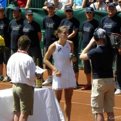 Andrea Petkovic (GER) - winner of the Gastein Ladies 2009, WTA Tournament