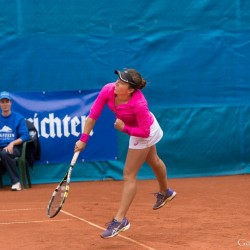 Grace Min (USA) vs. Irina Falconi (USA)