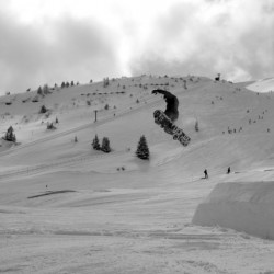 Snowpark - black and white