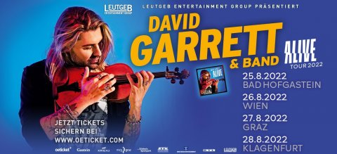 David Garrett in Gastein