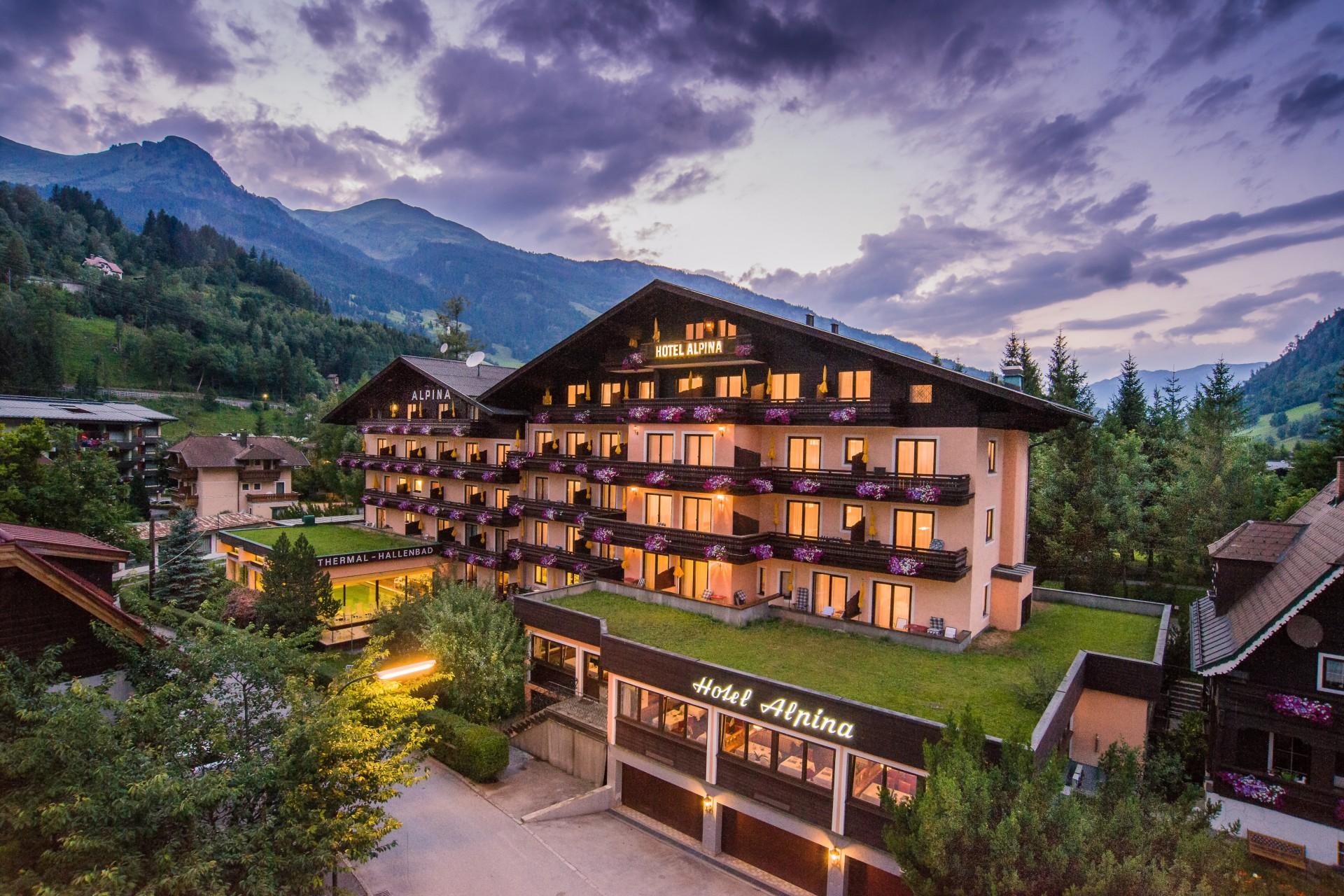 Alpina Hotel Hotel Alpina Bad Hofgastein 4 Sterne In Gastein