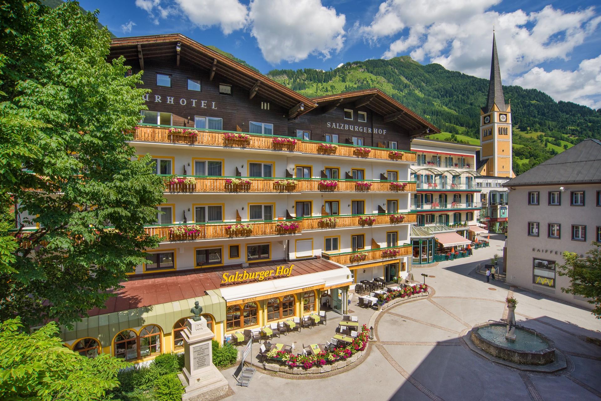 Der Salzburgerhof Bad Hofgastein 3 Sterne In Gastein