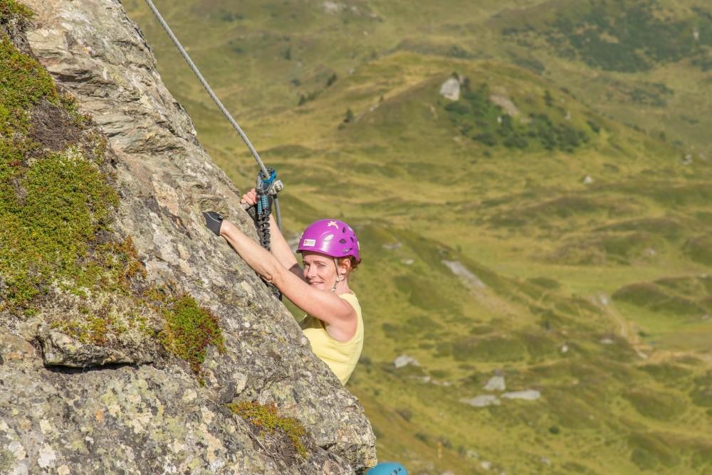 Klettersteig Leopoldsteinersee : Hochstuhl m klettersteig karawanken