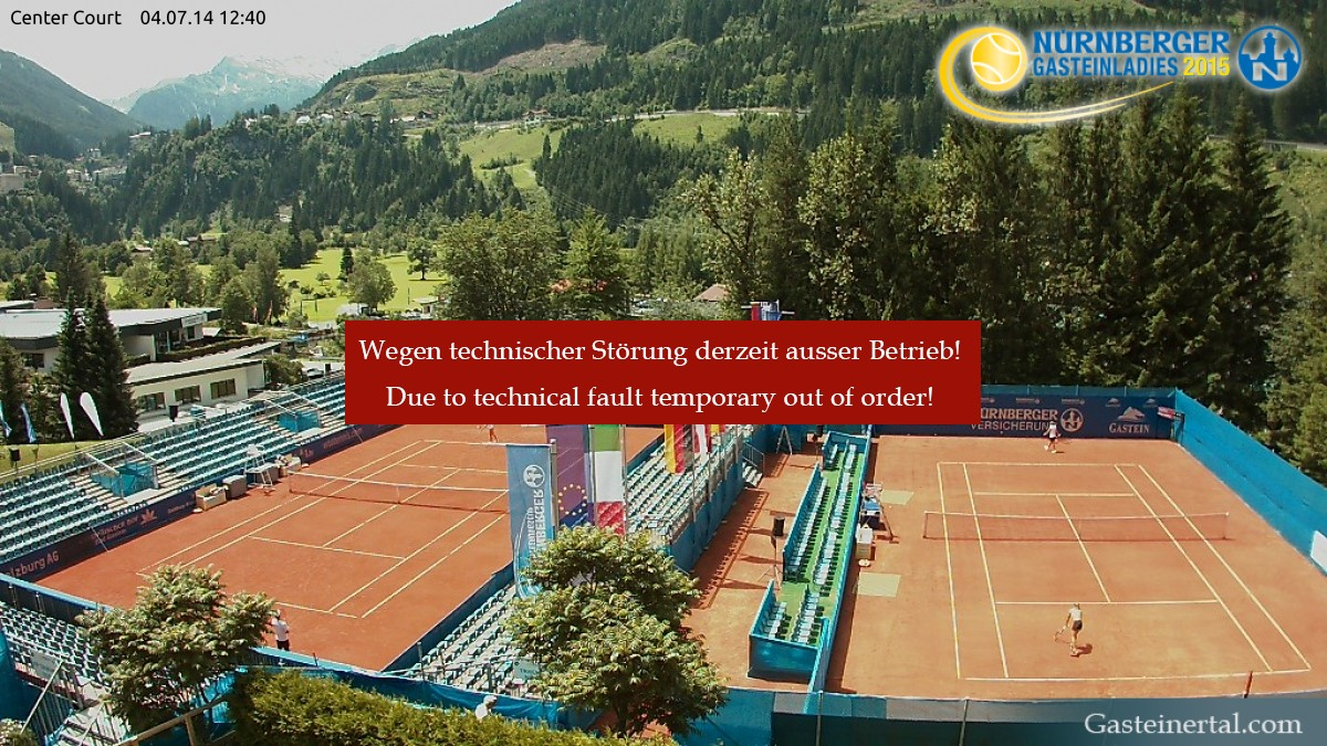 Webcam Tennis Center Court Gastein
